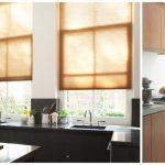 Ambiente selecto, empezando por las persianas de la cocina